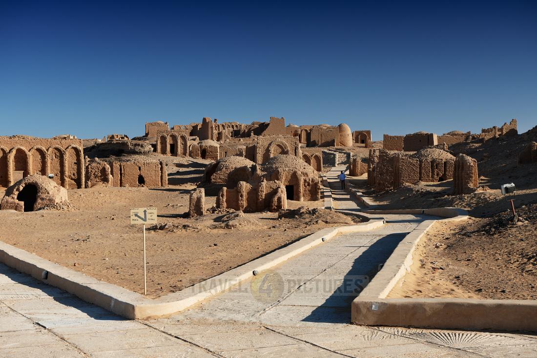 christian tombs of al-Bagawat