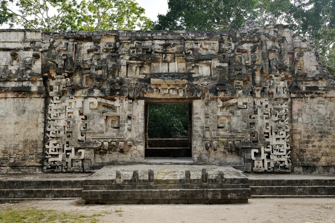 Itzamna temple, Edificio II