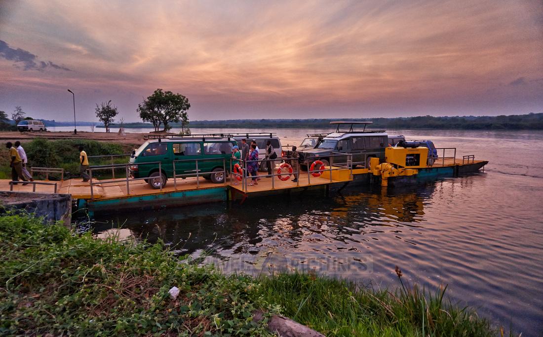 Car Ferry, Murchison Falls National Park