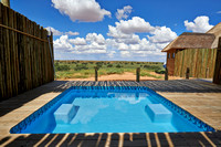 swimming pool of Rooiputs Lodge