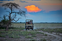 Safari Car with tourists