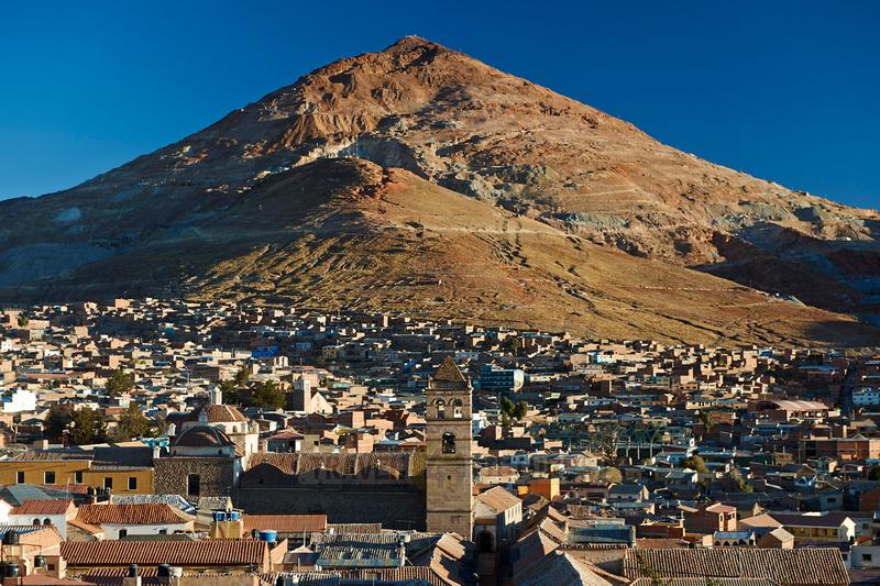 silver mountain Cerro Rico