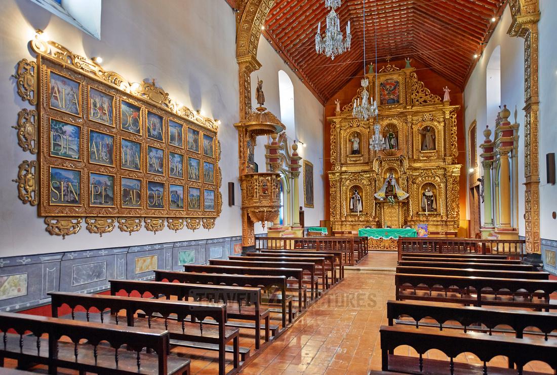 church with golden Altar
