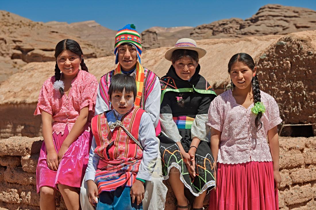 Quechua children