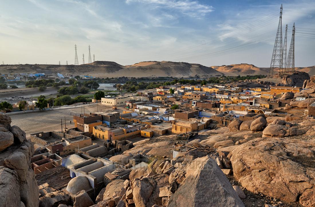 nubian village near Aswan