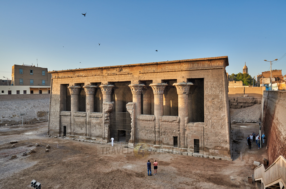 outside view of the Temple of Khnum