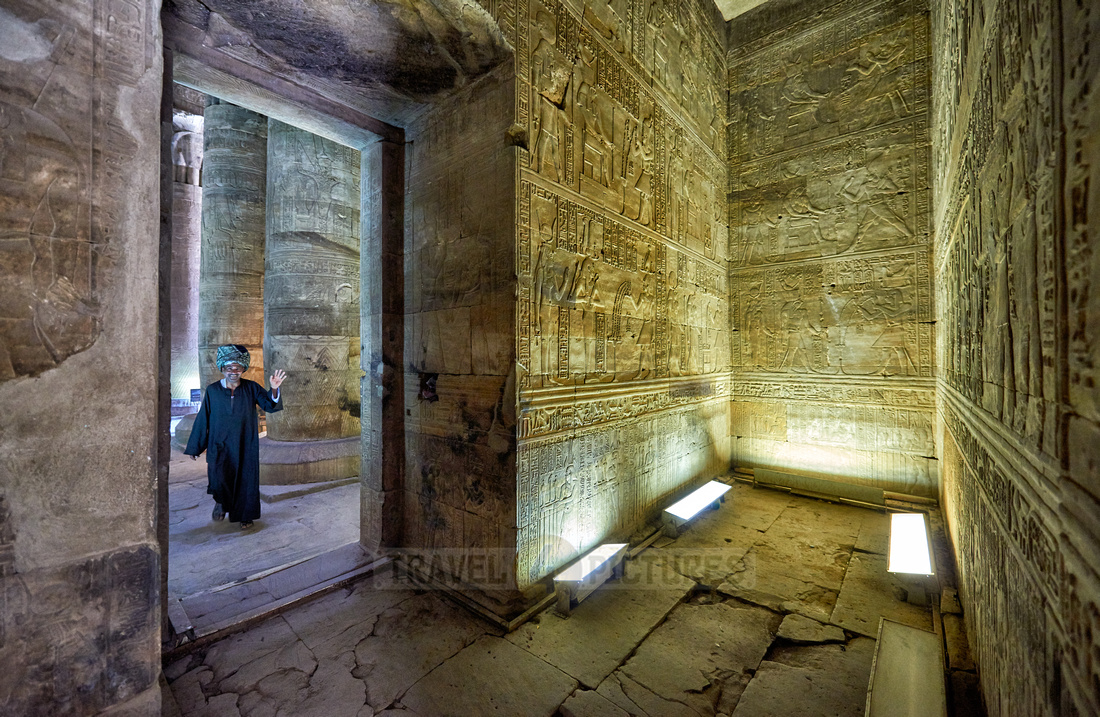 rooms with stone carvings on walls