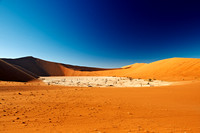 Deadvlei, desert landscape of Namib at Sossusvlei