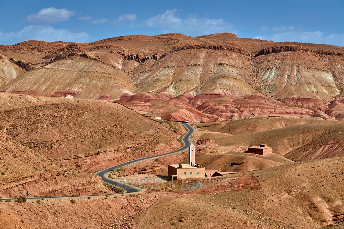 landscape in rose valley