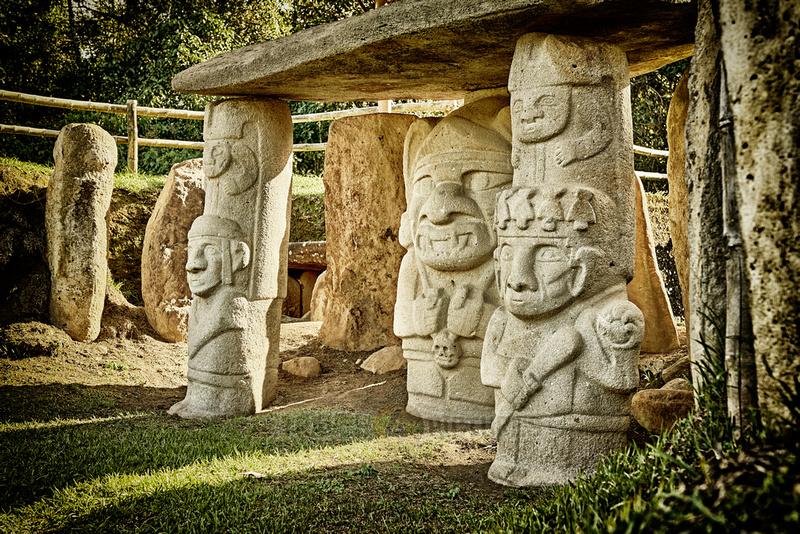 Mesita B ofarchaeological park Parque Arqueologico De San Agustin