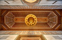 decorated golden ceiling