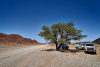 tourist self drive cars in Namib Naukluft Park