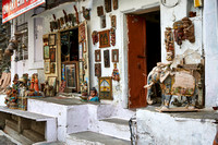 Souvenir shop in the streets of Udaipur