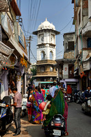 Clock tower in the streets of Udaipur