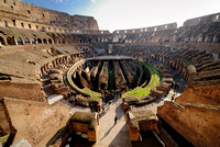 interior of Colosseum