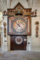 Astronomical clock in St. Paul's Cathedral in Muenster