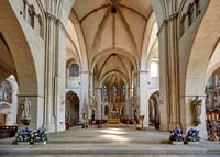 interior shot of Muenster St.-Paulus-Cathedral