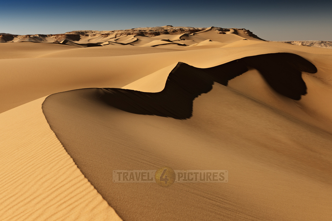 desert landscape with sand dunes