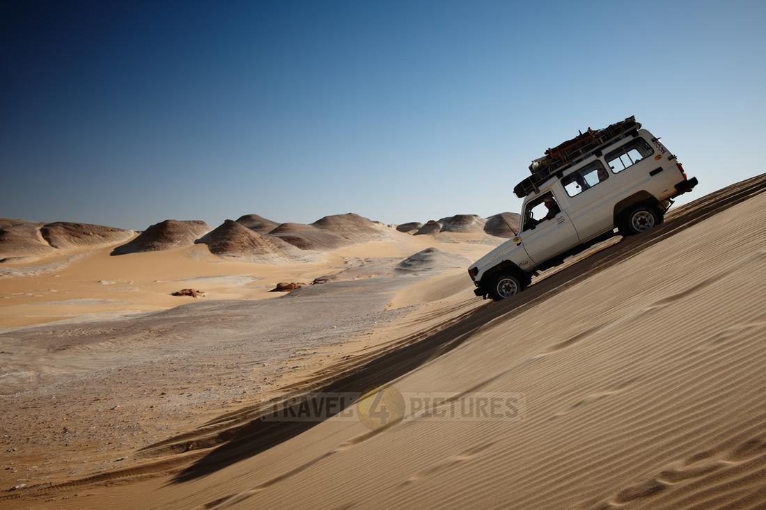 4x4 off road across desert landscape