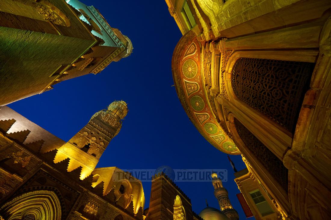 night shot in islamic Cairo