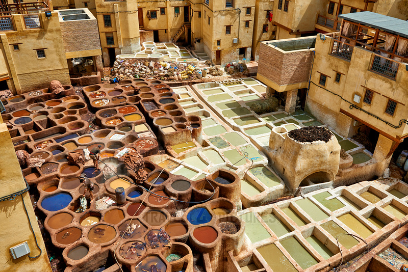 Chouwara  leather tannery in Old Fez