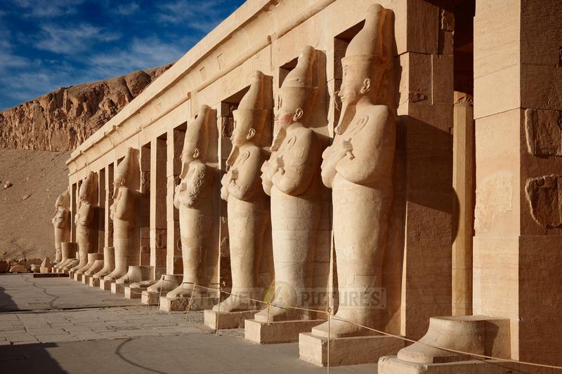 osiris statues