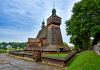 Church of the Assumption of Holy Mary and St. Michael's Archangel, Haczow, Polen 2015