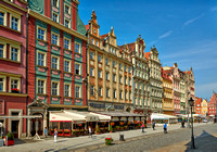 Market Square or Ryneck of Wroclaw