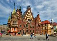 historical City hall of Wroclaw