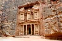 the TREASURY, Nabataean ancient town Petra