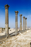 The Basilica Terrace, Ruins of Umm Qays, Jordan
