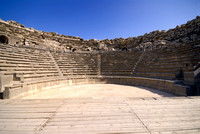 roman theater, Ruins of Umm Qays, Jordan