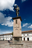 statue of Mariscal Sucre