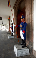 traditional guards at President House