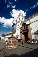 Santo Domingo, Monastery and Church and Plaza