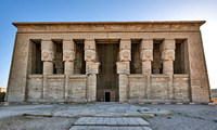 Hathor temple in ptolemaic Dendera Temple complex