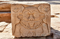 Relief of the god Bes
