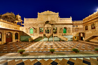 night shot of Mandir Palace Heritage Hotel