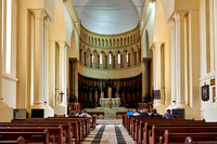 interior shot Anglican Cathedral in Stone Town