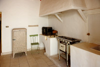 kitchen in house of Howard Carter