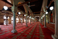 interior shot of Al Ashar Mosque