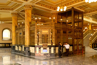 interior view of magnificent postal office
