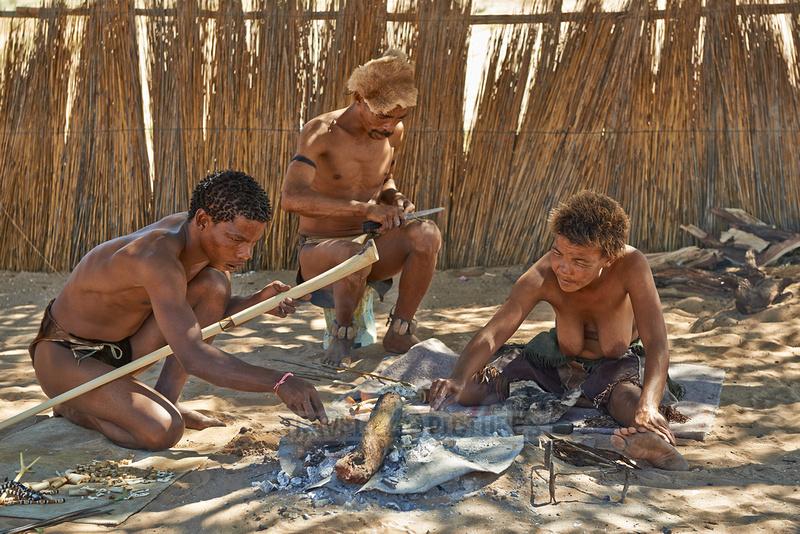 San oder Buschmann |San people or Bushmen|