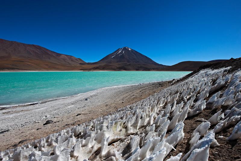 Laguna Verde and Vulcano Licancabur