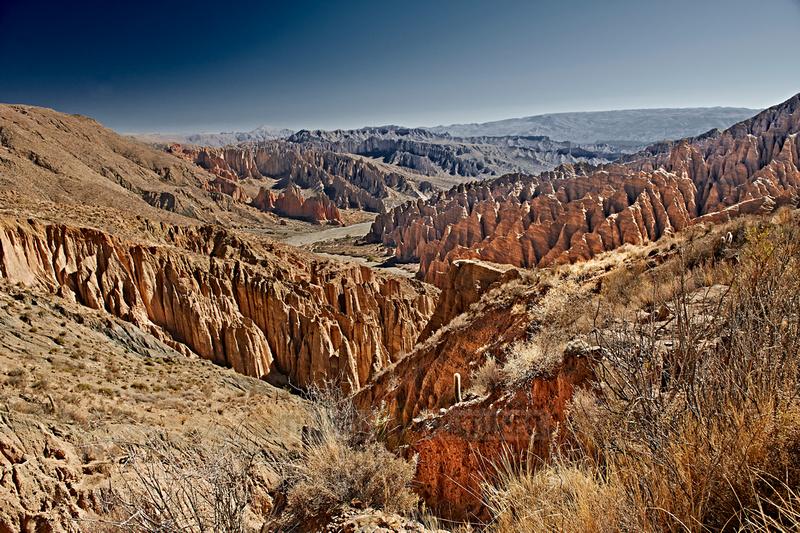 El Silla, erosion landscape