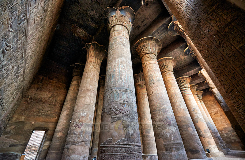 columns with inscriptions
