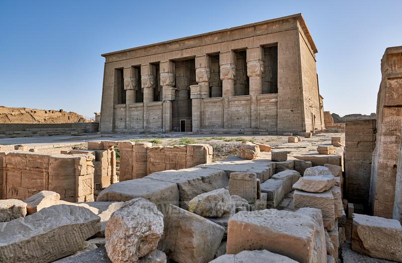 Hathor temple in ptolemaic Dendera Temple complex