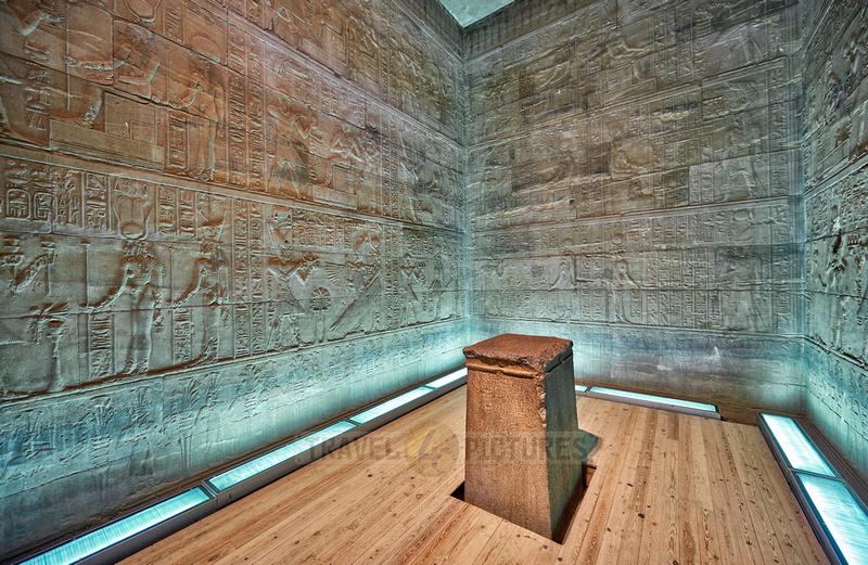 Isis-Altar inside Naos