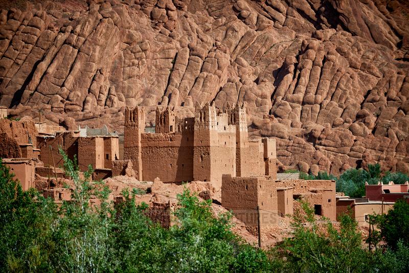 kasbahs in Ait Ouglif