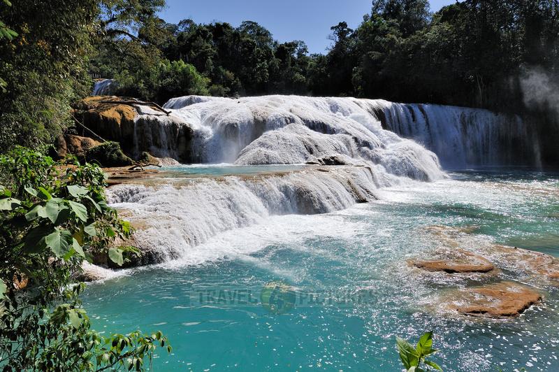 cascades of Agua Azul
